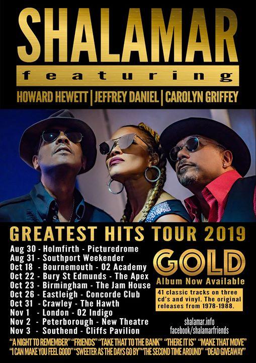 Shalamar at The Hawth Crawley