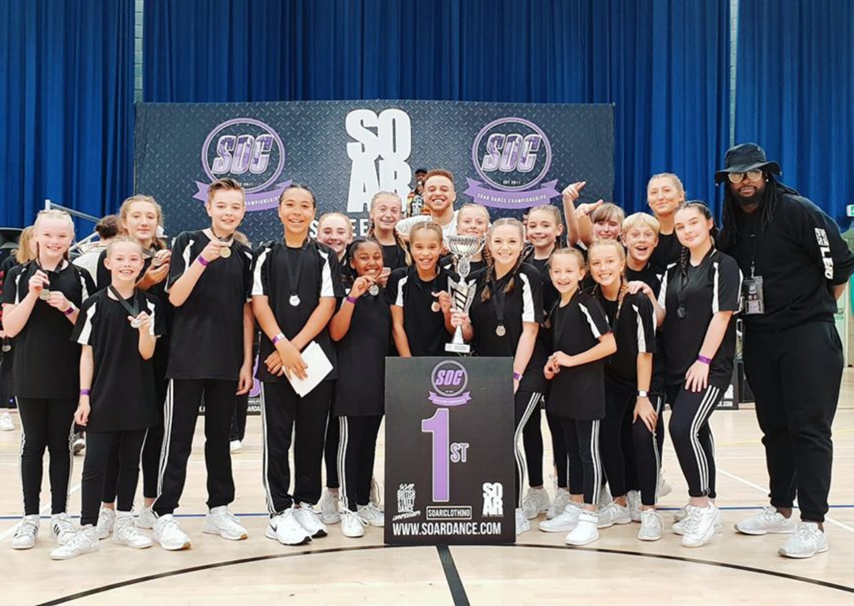 Crawley Dance Crew get First Place at the South East Street Dance Championships