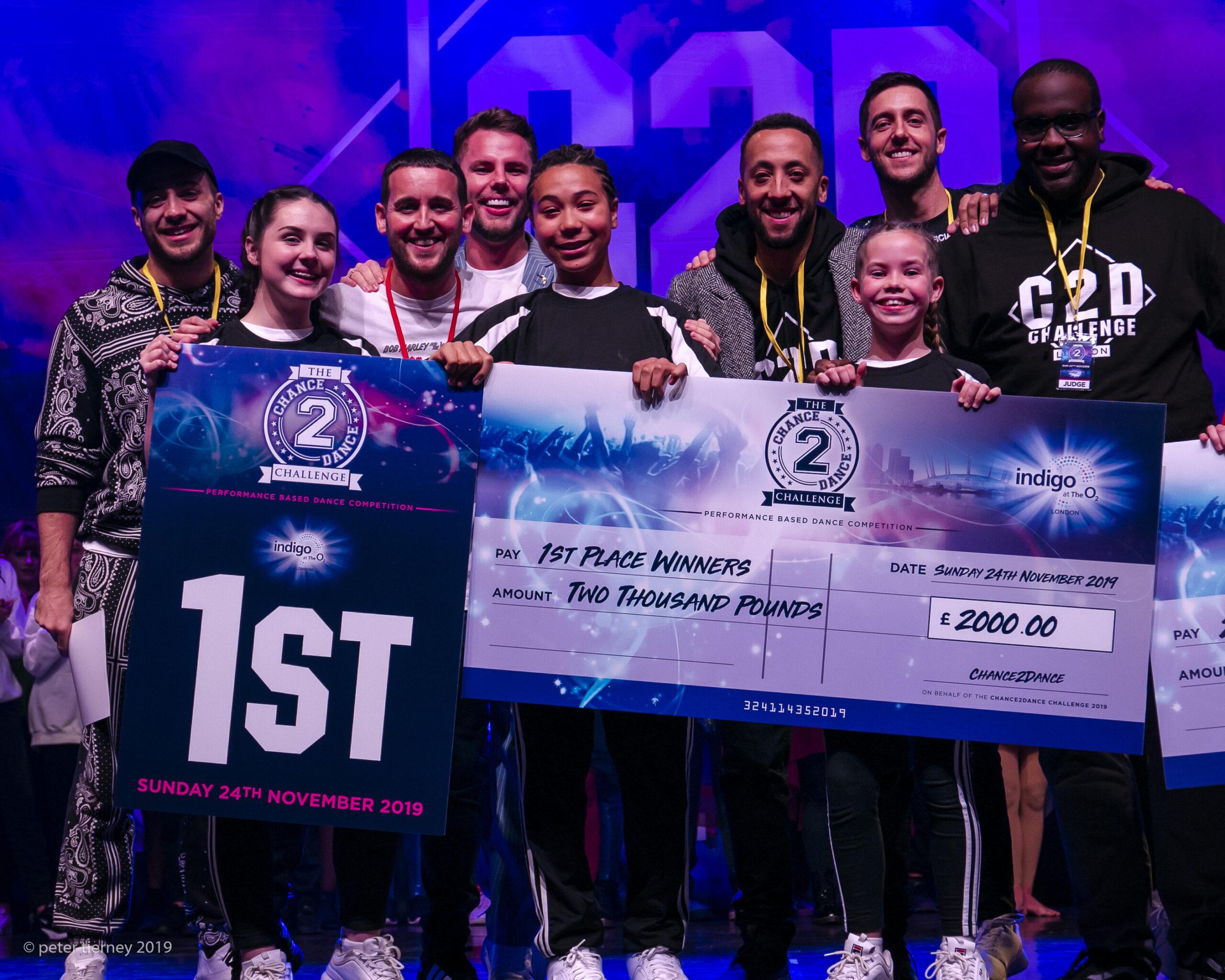 Urban City Dancers win comp at O2 London
